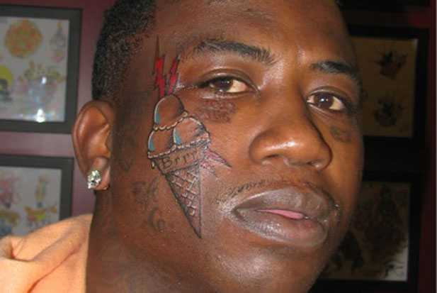 Why Did Gucci Mane Tattoo An Ice Cream Cone On His Face