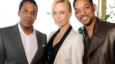 jay-z, Charlize Theron and Will Smith