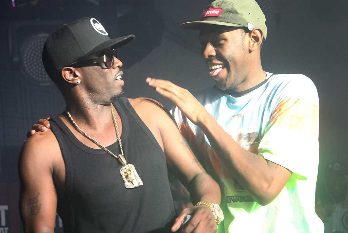 diddy, tyler the creator, odd future
