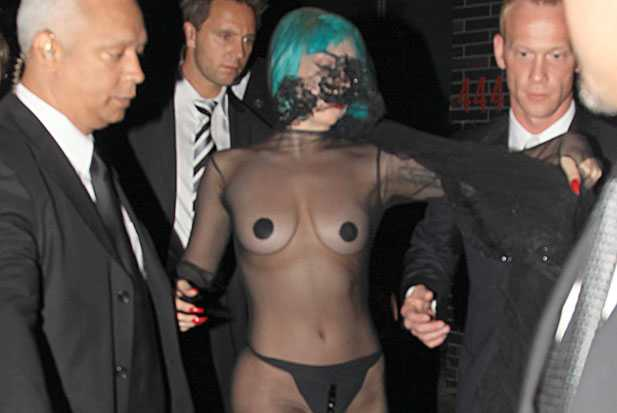 Lady Gaga's Couture Boobs Receive Prestigious Fashion Award