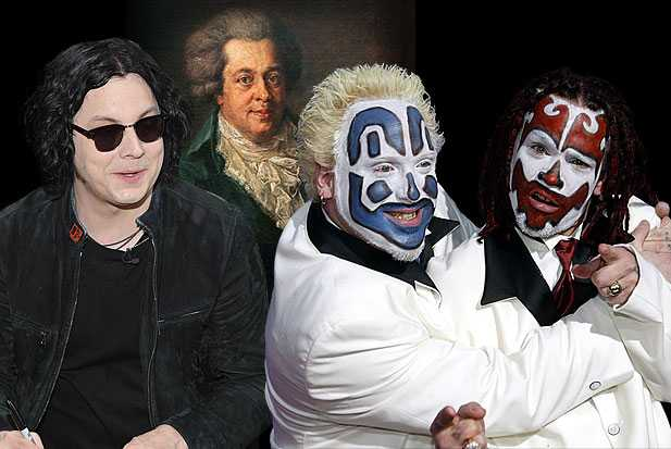 jack white insane clown posse icp shaggy mozart