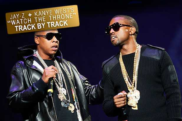 kanye jay-z watch the throne