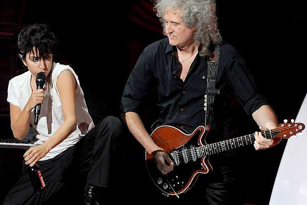 brian-may-lady-gaga-queen