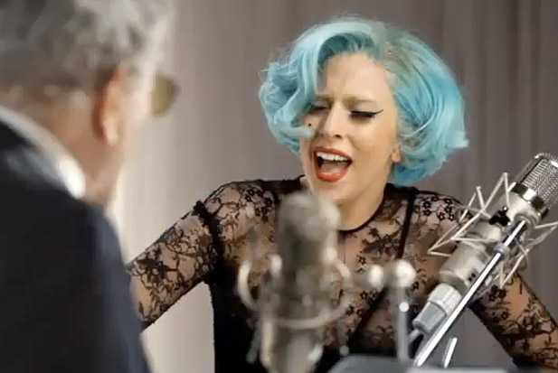 lady gaga sings with tony bennett ady is a tramp