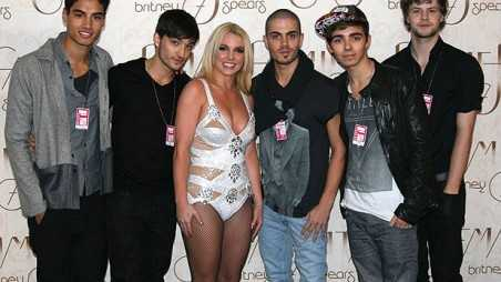 britney spears the wanted max siva nathan