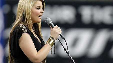 idol lauren alaina national anthem