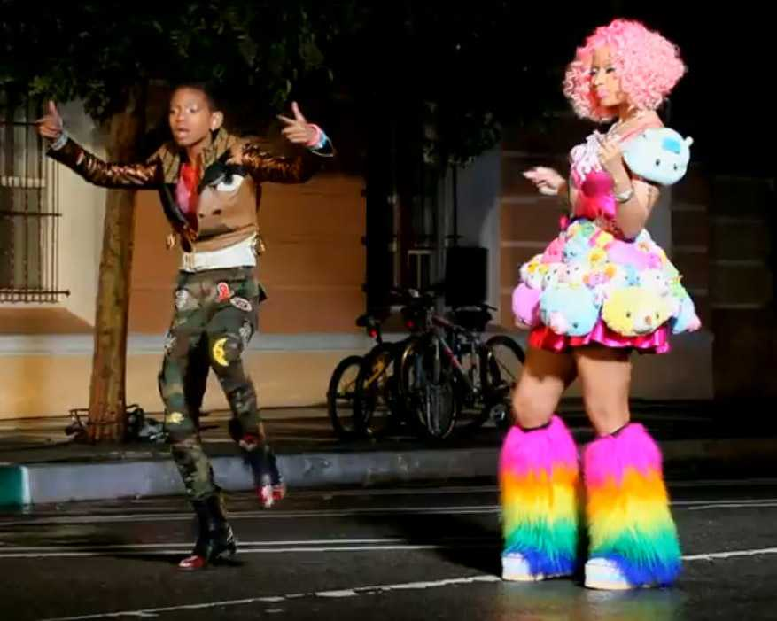 Willow-Nicki-Minaj-Fireball