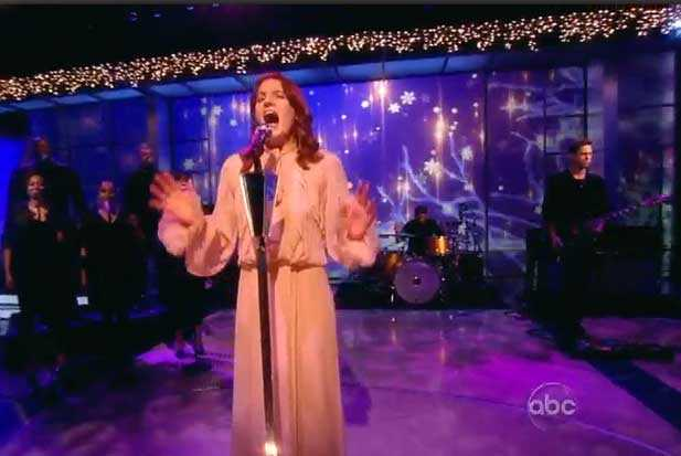 florence and the machine the view abc performs video shake it out