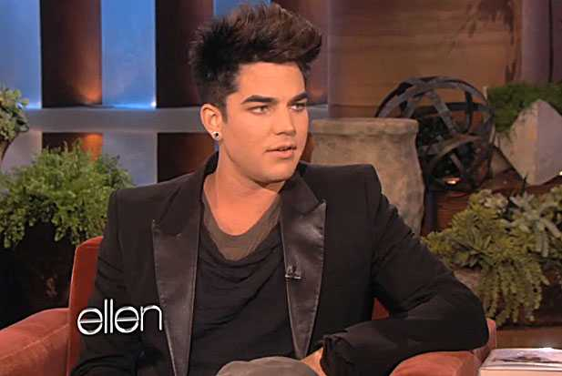 adam lambert fight finland ellen
