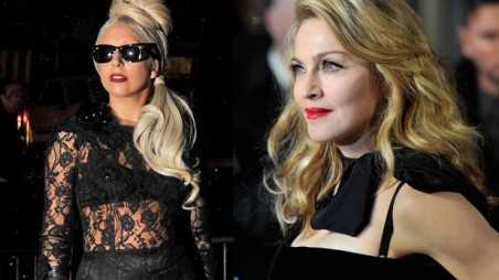 lady gaga madonna feud fight divas