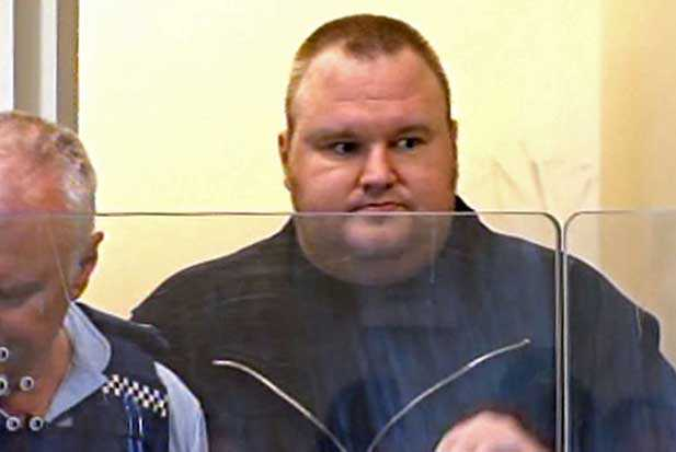 megaupload kim dotcom trial arrested