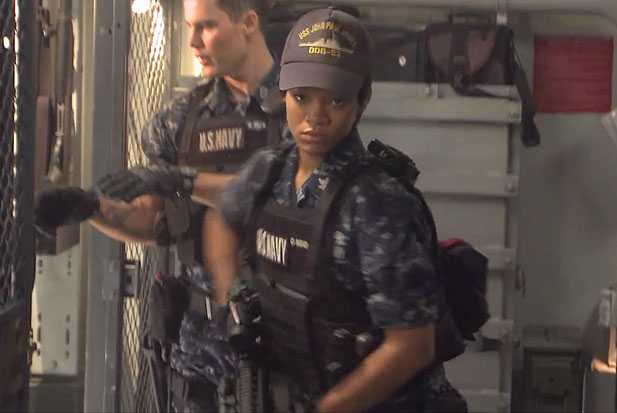 rihanna battle ship movie film weapons expert navy