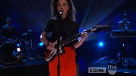 st vincent cheerleader conan tbs
