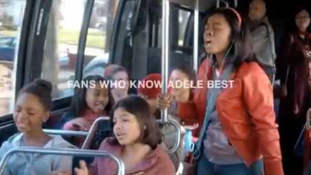 ps 22 choir adele commercial