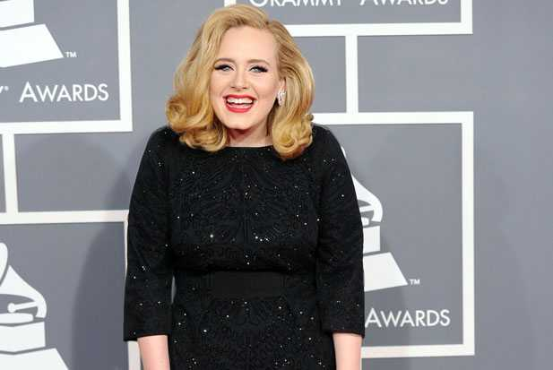 adele Grammys arrival