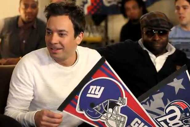 jimmy fallon super bowl party rowdy towels