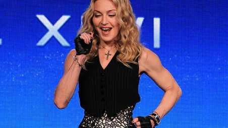 madonna dancing superbowl