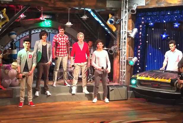 one direction icarly episode video