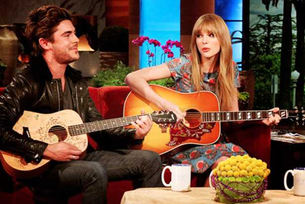 taylor swift and zac efron dating 2012