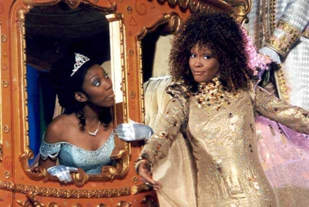 whitney houston, brandy