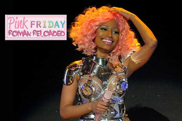 nicki minaj pink friday roman reloaded