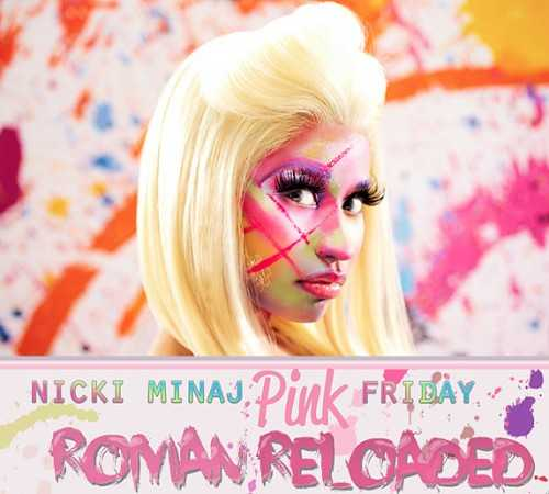 Nicki MInaj Roman Reloaded Album Art revealed