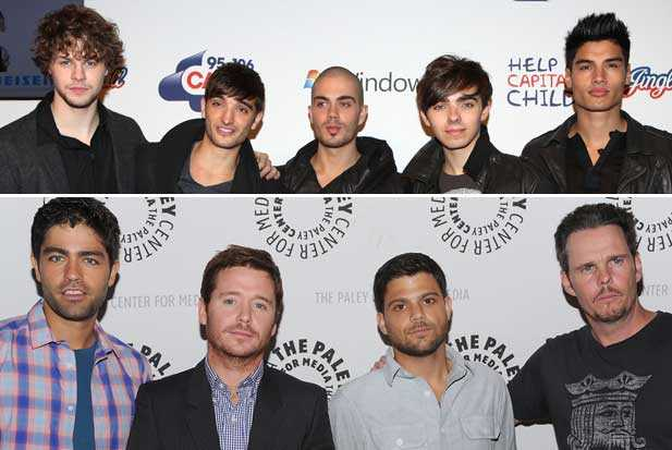 the wanted and entourage television show