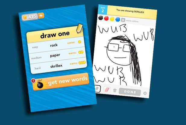 drawsomething-skrillex