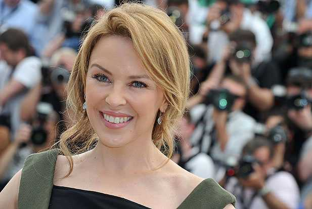 Kylie Minogue attends the 65th Annual Cannes Film Festival