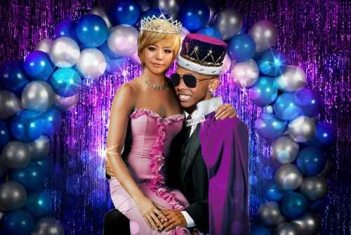 Sunny Prodigy prom king and queen