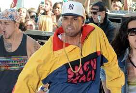 chris brown funny face picture today show rihanna