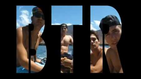 Big TIme Rush video - holding
