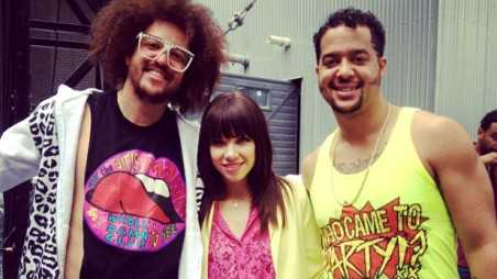 Carly Rae Jepsen and Redfoo song - holding