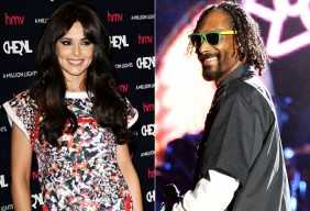 Cheryl Cole and Snoop Dogg - holding