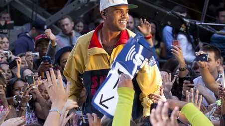 chris brown today show