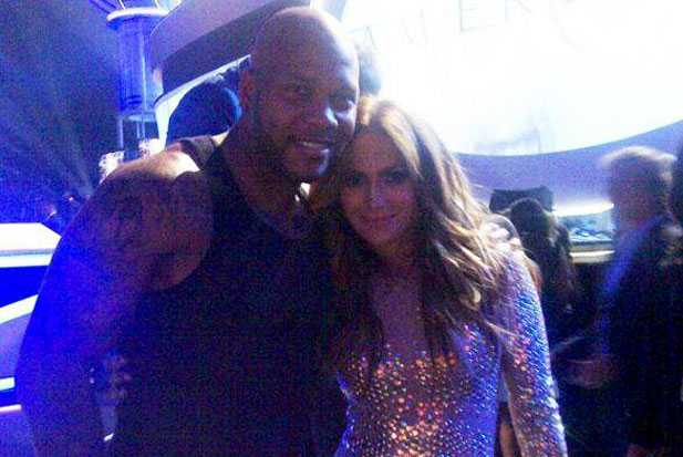 JLo and Flo Rida - holding