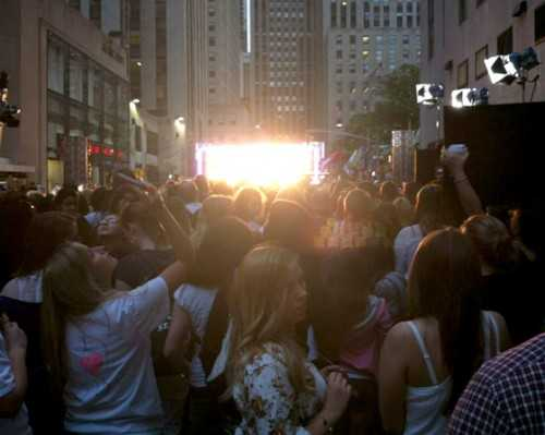 Justin Bieber Today Show Stage Embed