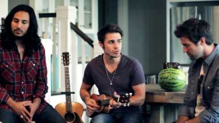"Kris Allen ""God Only Knows"" cover - holding"
