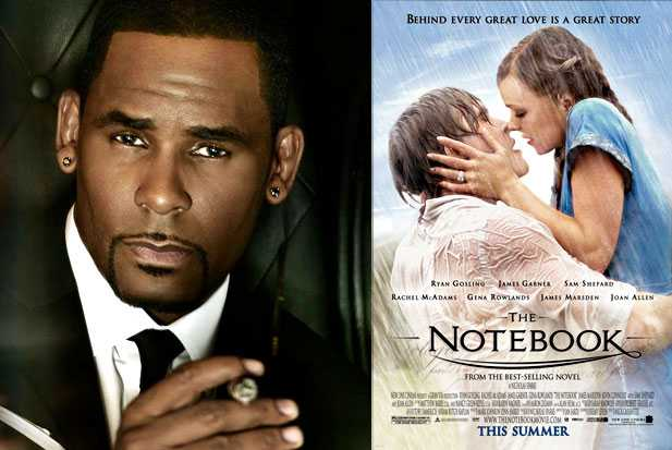 R. Kelly and The Notebook - holding