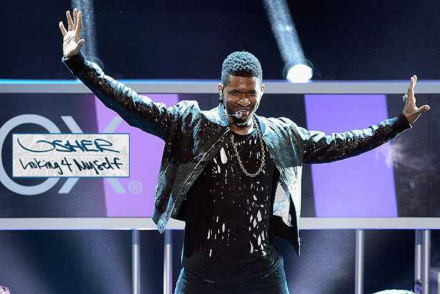 usher looking 4 myself album track review download