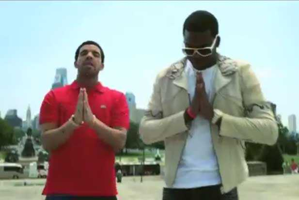 """Chuuuurch,"""" Indeed: The Meek Mill and Drake """"Amen"""" Video"""