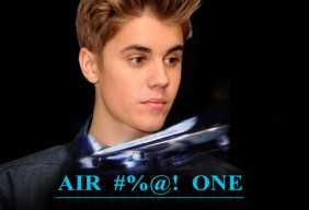 Justin Bieber Curses On An Airplane