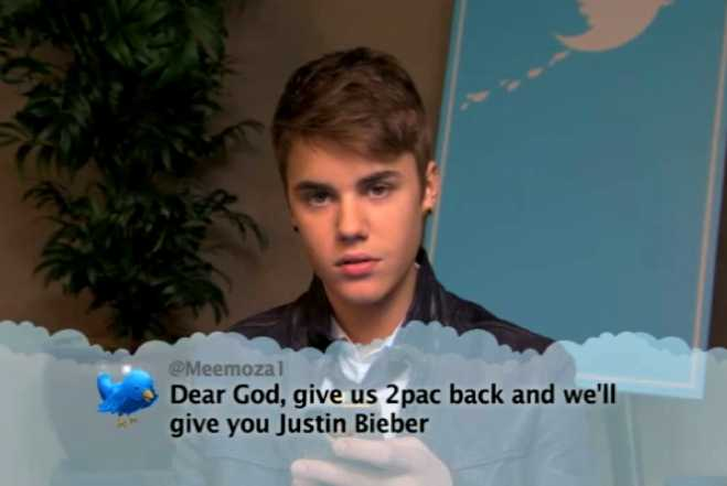 VIDEO: Justin Bieber, Katy Perry And More Read Hate Tweets ...
