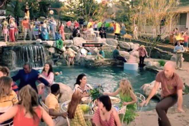 Pool Party R.E.M. Imitation of Life