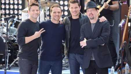 98 Degrees Performs On The Today Show