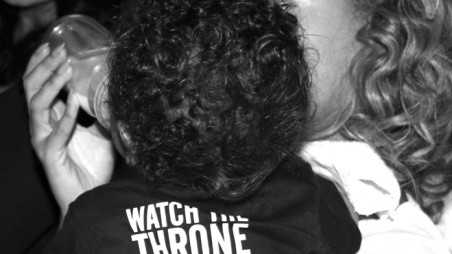 Blue Ivy Watch The Throne