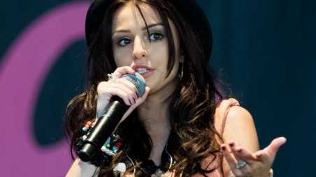 Cher Lloyd Bottle Thrown