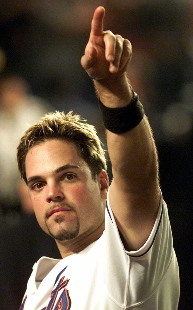 Frosted Tips Mike Piazza