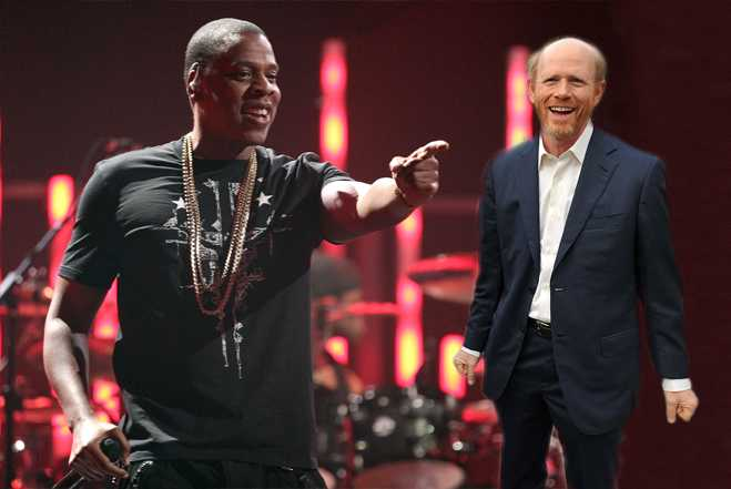 Jay-Z Ron Howard Watch The Throne