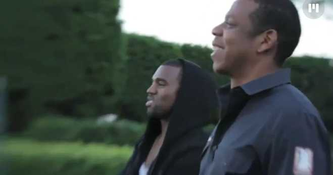 Kanye West Jay Z Watch The Throne Documentary